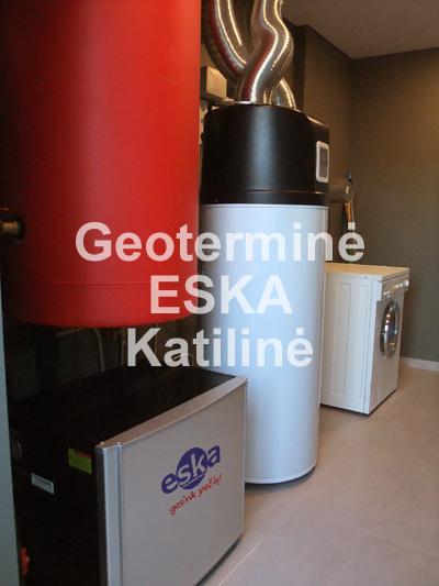 Geoterminė katilinė 9kW